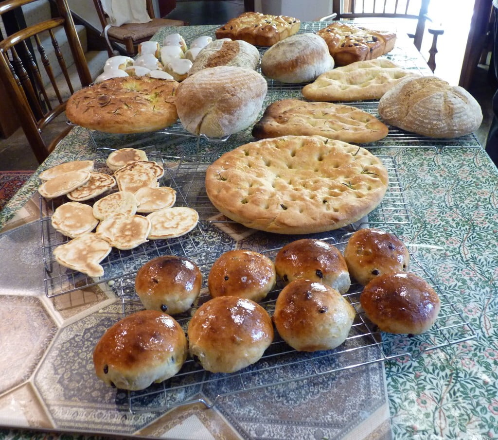 Breads made on 14th June