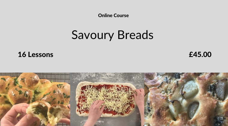 Savoury Breads Course Card